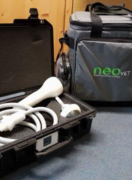 Neovet Shockwave machine