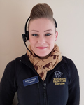 Kelly Robinson, support team at Scott Dunns Equine Clinic