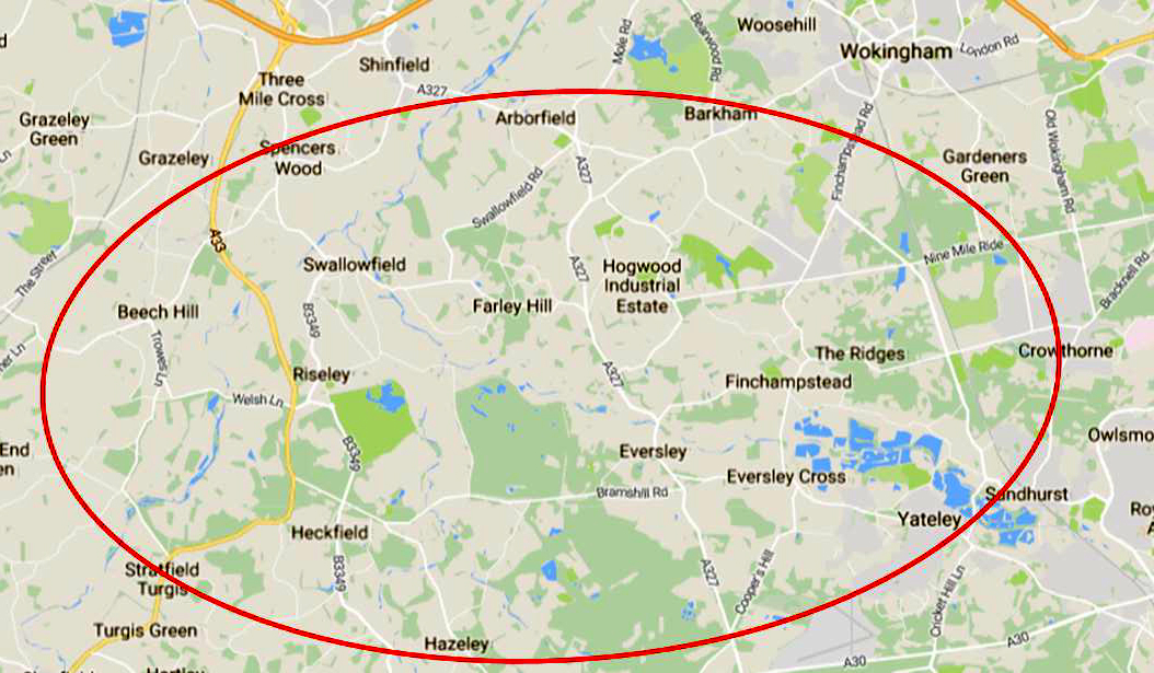 South Berkshire and North Hants zone